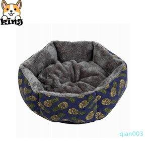 Canvas Hexagonal Pet Kennel Grosso Quente Canil Super Macio sujeira resistente removível e lavável dupla utilização Pet