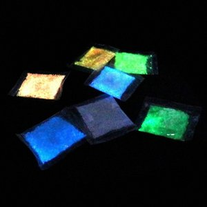 Luminous Particle heller Glühen Sand blaufluoreszierenden Super-Glow In The Dark Sand Spielzeug für Kinder DIY, die Flasche wünscht Eche #