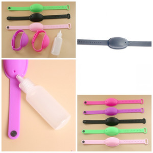 Portable Wristband Hand Sanitizer Bracelets Fashion Watches Popular Wrapper Wash Free Silicone For Kids Adults 2 15ty F2