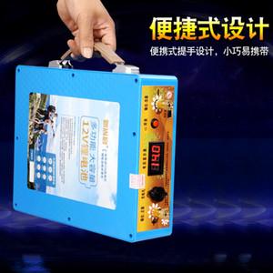 De grande capacité 14V 120AH 100AH 80AH fer au lithium Li-ion USB Batterie pour moteurs de bateaux / panneau solaire / onduleur source d'alimentation extérieure