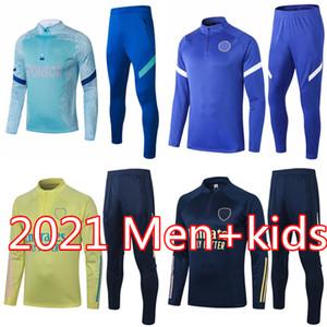 19 20 21 خطوة تدريب دعوى رجل جوينزي كرة القدم تراكسويت 2020 2021 رامزي كين سون سيتي survetement كرة القدم رياضية الركض