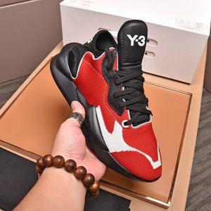 2020 Mens Y3 IIvenom Designer-Turnschuhe Kusari Schwarz Rot Qualitäts-In Fashion Frauen Schuhe Trendy Lady Y3 beiläufige Aufladungen mit dem Kasten