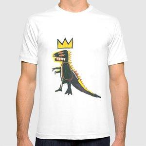Dinosauro: T shirt Omaggio Per Basquiat Omaggio Basquiat Dinosaur Samo Street Art Pop Art