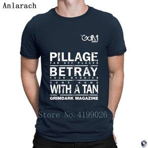 Pilliage Betray With a Tan tshirts new Tee top fun Kawaii men's tshirt Crew Neck designer solid color Anlarach Summer Style