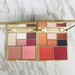 NEW STILA senve color stila to drop 2 set launching golden yellow eyeshadow palette cosmetics 7color eyeshadow make up.