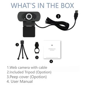 Xiaomi youpin IMILAB Webcam Full HD 1080P Video Web Call Cam avec Mic Branchez PC portable Moniteur Caméra Web avec trépied