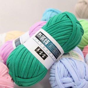 OFERTA 5 Piezas de Gaza 500G hilo especial elegante al por mayor de lana Bolsa de hilo de ganchillo alfombras tejidas a mano Fancy Hilados de algodón