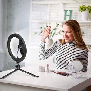 Video İnç Üç İçin Canlı Kamera Luminaria Youtube Selfie'nin Dolgu Dim Işık Işık Telefon Renk Halkası 10 Led Yayın bbyGD bde_home