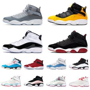 nike air jorden retro 6 ring anneaux hommes femmes chaussures de basket-ball UNC LIGHT BLUE FURY Concord Multicolor Retro Space Jam de sport mens sneakers nous Taille 13