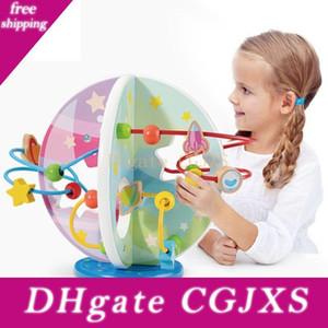 بنين بنات لغز لعب الأطفال في وقت مبكر التعليم الخرز الملونة حول الخرز أطفال لعبة مضحكة هدايا