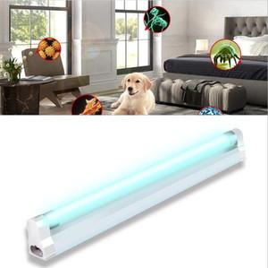 6W 8W UV T5 germicida Tubo lâmpada Ozono desinfecção lâmpada UVC Esterilizador matar ácaros Cozinha Quarto 110V 220V