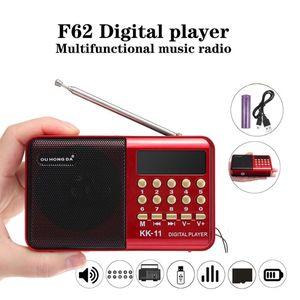 radio mini portatil antenne fm récepteur stéréo radios bidirectionnelles de haut-parleur portable Bluetooth pour module portable usb home 220 v