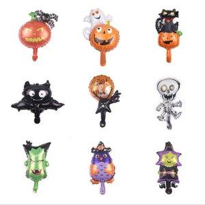 Halloween alumínio Film balão bonito da festa de balões Haunted House Terrorist balão Outros Party Supplies DHD1266 Atacado