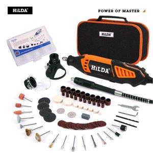 Broca HILDA elétrica Dremel Grinder gravador Grinder Mini broca elétrica Ferramenta Rotary Retífica Dremel Acessórios