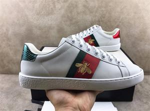 Hot Designer Shoes Casual Branco Ace listra verde Red Bee Tiger cobra amei Sneaker para mulheres dos homens Trainers Chaussures Com Box