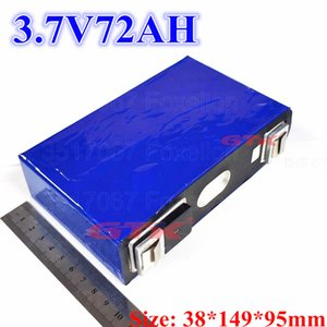 GTK lítio 3.7V bateria de alta capacidade 72Ah para 12v 24v 36v 48v DIY pacote de bicicleta elétrica carro de scooter