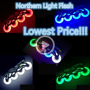 ,Skateboard Flashing Roller skates shoes wheel shine led 80 76mm 72mm flash tyre SEBA High Light HV HL Inline Skate FSK