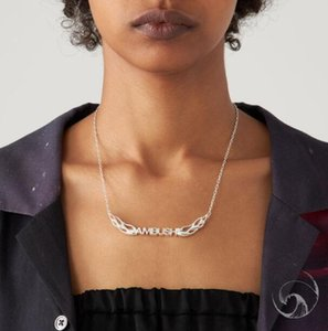 Ambush young flame letter necklace men and women fashion personality Pendant Jewellery