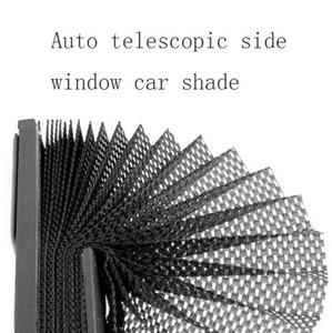 Side Car 46x3x60cm Noir Auto rétractable rideau Window Shade Pare-brise Pare-soleil Pare-soleil Visorcar fenêtre latérale
