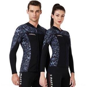 traje de baño VELA chaqueta de 1.5mm dividida engrosada cálido par de buceo al aire libre surf medusas caliente traje de buceo traje de buceo DIVE jc8jW