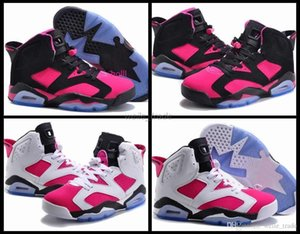New Mulheres Vi 6 Basketball sapatos rosa alta qualidade Sapatilhas Womans 6s Atlético Ttainers Basket Ball Sport Shoes Eur 36-40