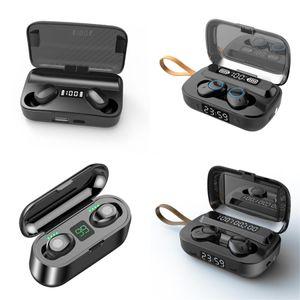 I7 Mini TWS inalámbrica Bluetooth para auriculares Auriculares Doble Con el muelle del cargador auriculares estéreo para IPhone X 8 7 Plus S9 Plus Android # 4391