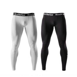 MÚSCULO ESTÉTICA deportivos estética MÚSCULO hermanos de los hombres deportivos ajustados pantalones ajustados pantalones transpirable de secado rápido polainas aDfYr