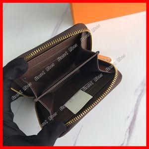 Eccellente borsone Zippy Coin Womens Lussurys Designer Borse Borse Portafogli Porta carte di credito Borsa Pochette Uomo Portafoglio Zipper Zipper Coin Pocket Bag
