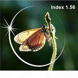 2 pcs ,Radiation protection Index 1.56 Clear lens Optical HMC, EMI Asphere anti UV Myopia hyperopia prescription lenses