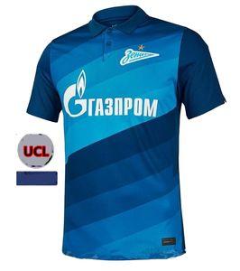 20 21 FC Zenit St. Petersburg maison jersey de football loin gris bleu MALCOLM 2020 2021 Lovren SANTOS BARRIOS Shirt