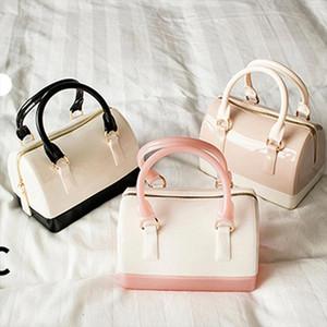 Casual Women Silicone Summer Sweet Handbags Tote Bag Girls Pouch Bolsas Ladies Jelly Mini Crossbody Shoulder Beach Bags