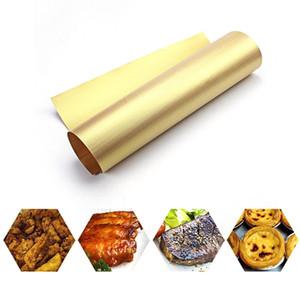 حزب العائلة شواء ماتس غير لاصقة قابلة لإعادة الاستخدام ورقة الشواية الخبز حصيرة للشواء الشواء في الهواء الطلق الطبخ اكسسوارات BBQ 40 * 33CM