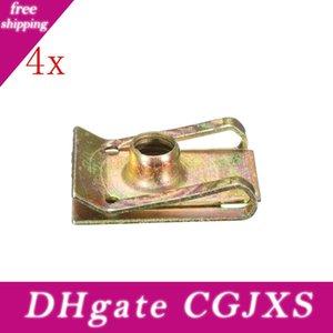 4x M6 6mm Trittplatte Spire Nut Verkleidungs Clip-Verschluss Geschwindigkeit Zink Befestigungsschelle