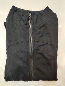 Женская куртка тренировки Йога Полный Zip Беговая дорожка Jacket