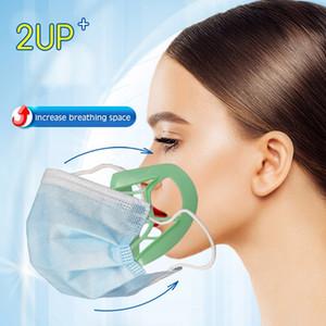 Respirant Pont Forme réutilisable Extension unisexe vente Support de sécurité de soutien Bouclier 3D de stand respirateurs bouche et le nez chaud Masque Su Xssl