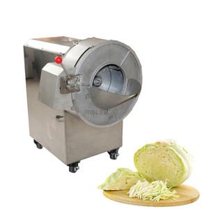 2020 Commercial cortar legumes Fruit Machine Automatic and Vegetable Slicer e Shredder Batata Rabanete Slices