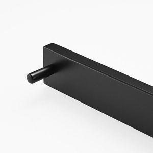 Gancio nero Hardware Set di carta opaca tovagliolo Bathroom Wall Holder Hardware G124 accessori del pendente Bar Mount singolo Robe Fapully HBTDZ