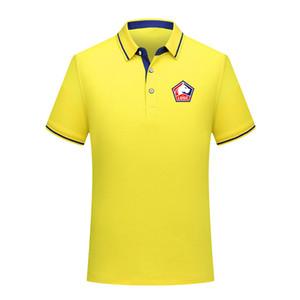 2020 Lille LOSC homens Futebol Polo Futebol de manga curta polo formação Fashion Desportivo Polos do futebol do futebol T-Shir