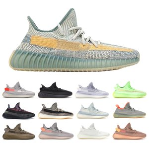 Free shipping MCLAOSI SELL BEST Kanye West running shoes with Yecheil,Zyon, Zebra, Bred Static sports shoes,Top quality.AA1