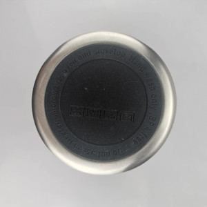 aço taça de borracha 50 milímetros 51,5 milímetros etiqueta preta inoxidável copo ProtectorBottle fundo de proteção coasters borracha Cup Tampa
