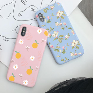 2020 New Arrival Lovely Flowers Phone Case For iPhone 11 Pro Max X XS XR 6 6 Plus 6S 7 8 Cell Phone Protect Case