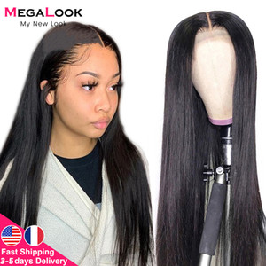 6x6 Closure Wigs Straight Lace Front Wigs 180 Remy Brazilian Human Hair Wig Lace Closure Wig