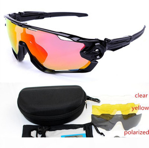 Jawbreaker Polarized 4lens Outdoor Sports Mountain Bicycle UV400 Sunglasses men Gafas ciclismo MTB Cycling jbr Glasses motocycle Eyewear