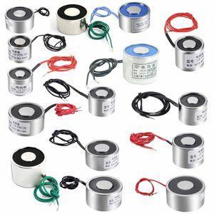 uxcell 1pc Saugen Disc Magnet Aufzug Halten Elektromagnet DC 12 / 24V vFVM #