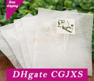6000pcs maíz fibra bolsas de té en forma de pirámide sellado en caliente Filtro Bolsitas de té Pla biodegrada filtros 5 0.8 * 7cm