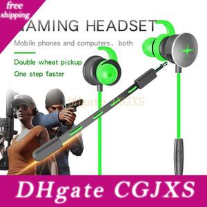 Gaming auricolare per Razer Hammerhead con microfono 3 .5mm sdoppiatore Microfono In -ear bassi profondi del gioco di gioco Pc auricolari per il telefono mobile Heads