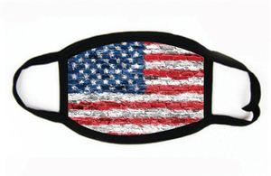 Baskı toz geçirmez eksikliği Maskeler Amerikan Seçim Malzemeleri Evrensel İçin Erkekler Kadınlar Amerikan Bayrağı Parti Maskesi # 491 Maskesi