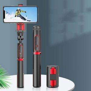 2020 Нового прибытия Handheld Стабилизаторы способ защиты от сотрясений Телефона сеой Стик одноосной Rod Стабилизатор Bluetooth Универсального штатив Steady