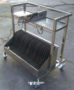 SMT Besleyici Depolama sepeti L800 * W600 * Siemens için H1000 seçin ve Yeri Makinesi qpfF #