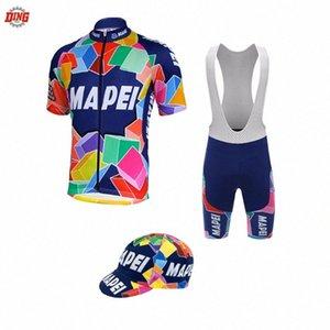 YENİ bisiklet forması erkekler kısa kollu Jel Pad yanlısı bisiklet aşınma forması seti giyim MTB yol kısa seti Akok # bisiklet şort önlük